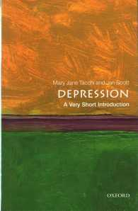 Depression a very short introduction Very short introductions ; 504