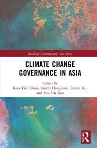 Climate Change Governance in Asia Routledge Contemporary Asia Series