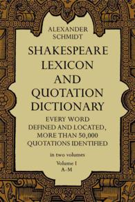 Shakespeare lexicon and quotation dictionary v. 1 a complete dictionary of all the English words, phrases, and constructions in the works of the poet