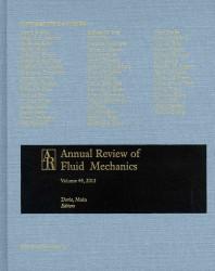 Annual review of fluid mechanics