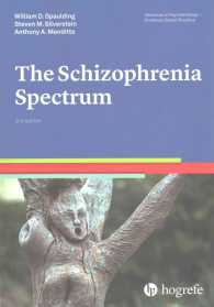 The schizophrenia spectrum Advances in psychotherapy--evidence-based practice ; v. 5