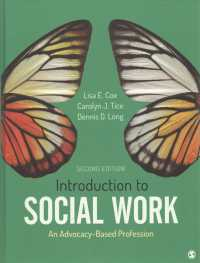 Introduction to social work : hardcover an advocacy-based profession