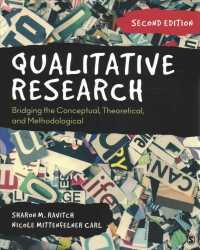 Qualitative research bridging the conceptual, theoretical, and methodological