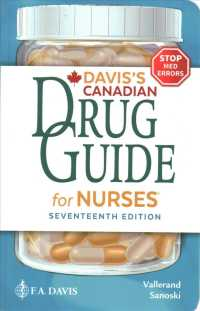 Davis's Canadian drug guide for nurses : hbk