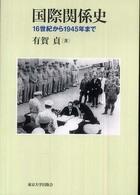 国際関係史