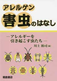 アレルゲン害虫のはなし アレルギーを引き起こす虫たち