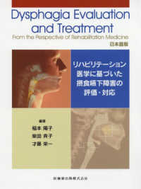 Dysphagia evaluation and treatment from the perspective of rehabilitation medicine 日本語版 リハビリテーション医学に基づいた摂食嚥下障害の評価・対応