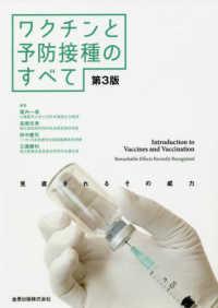 ワクチンと予防接種の全て 見直されるその威力
