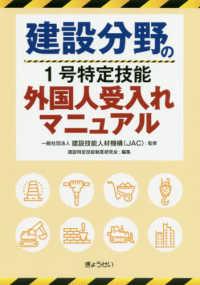 建設分野の1号特定技能外国人受入れマニュアル