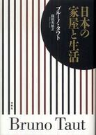 日本の家屋と生活