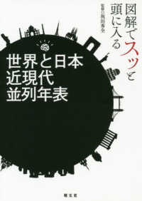 世界と日本近現代並列年表 図解でスッと頭に入る