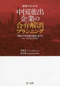 図表でわかる中国進出企業の合弁解消プランニング 多難な中国事業の撤退・縮小をスムーズに行うために