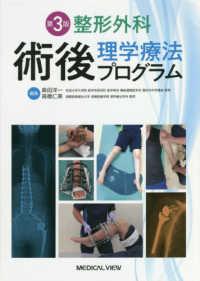整形外科術後理学療法プログラム