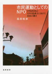 市民運動としてのNPO 1990年代のNPO法成立に向けた市民の動き