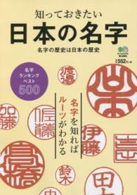 日本の名字 知っておきたい  名字の歴史は日本の歴史