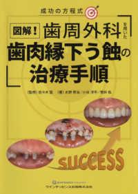 図解!歯周外科を用いた歯肉縁下う蝕の治療手順 成功の方程式