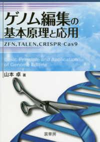 ゲノム編集の基本原理と応用 ZFN, TALEN, CRISPR-Cas9