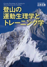 登山の運動生理学とトレーニング学 Exercise physiology & training for mountaineering and climbing