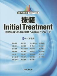 抜髄Initial Treatment 治癒に導くための歯髄への臨床アプローチ