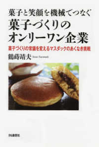 菓子と笑顔を機械でつなぐ菓子づくりのオンリーワン企業 菓子づくりの常識を変えるマスダックのあくなき挑戦