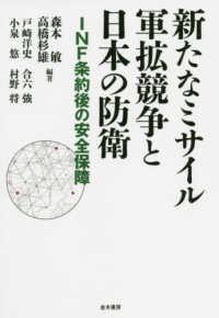新たなミサイル軍拡競争と日本の防衛 INF条約後の安全保障