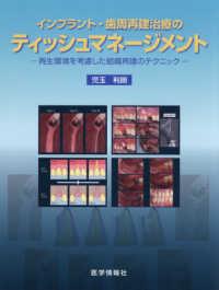 インプラント・歯周再建治療のティッシュマネージメント ; 再生環境を考慮した組織再建のテクニック